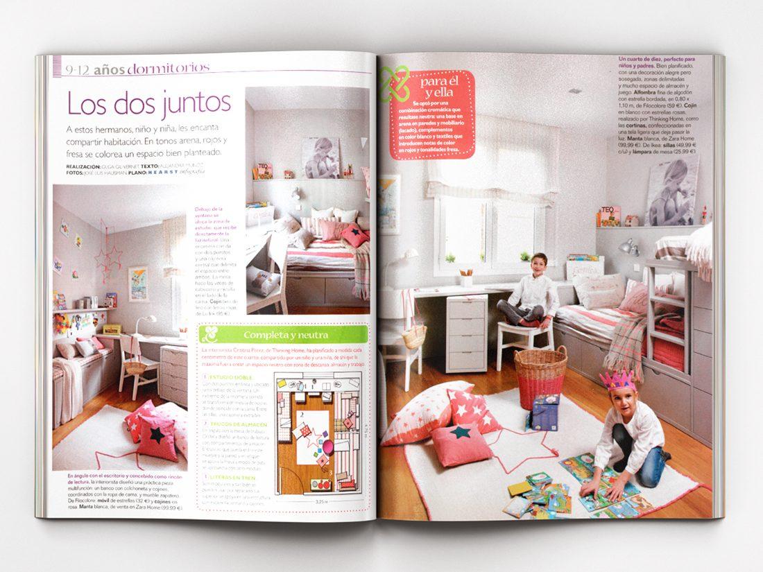 Thinking Home - Espacios a medida - Revista Mi Casa - Extra Niños 53