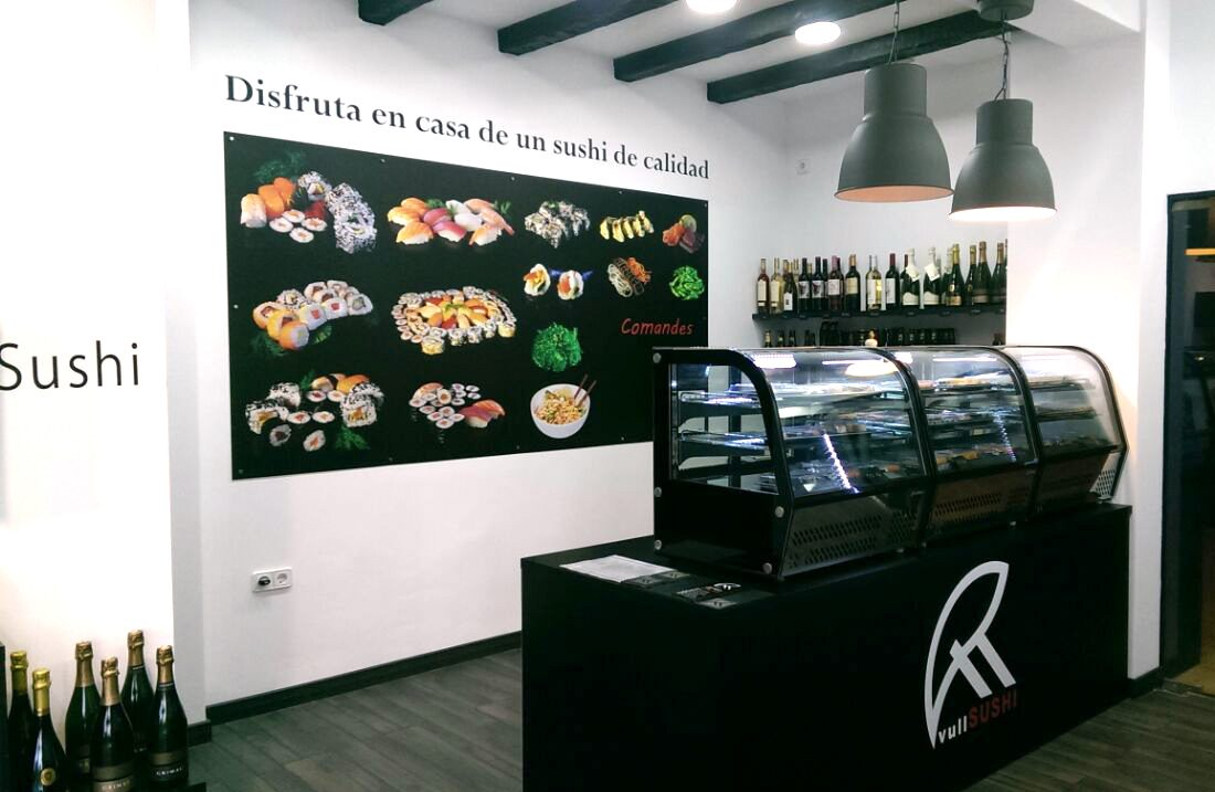 Thinking Home - Interiorismo local commercial Sushi Sabadell